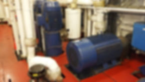 Horizontal cargo pump and vert
