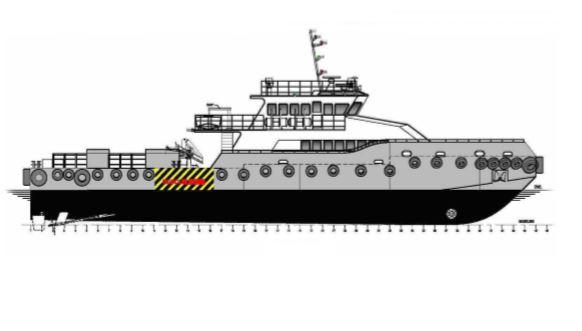 36m Patrol vessel