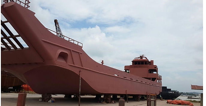 45m landing craft for sale