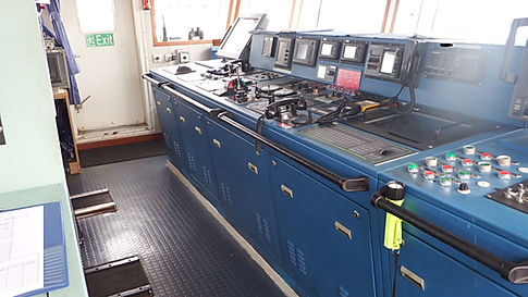 Wheelhouse console