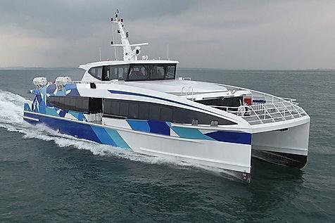 Aluminium Fast ferries