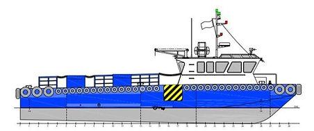 23.8m workboat