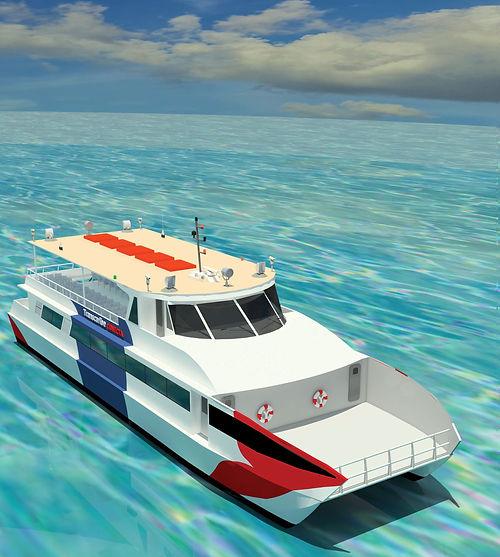 30M boat