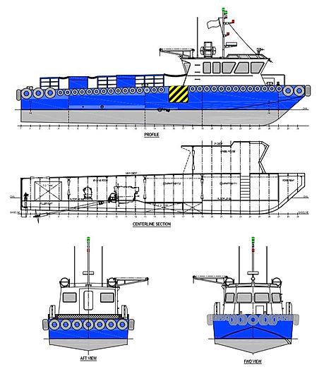 23.8m Crew Support vessel