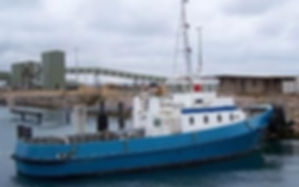 28 tbp harbour tug for sale