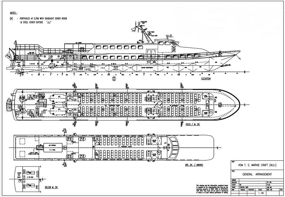 GA 45m 278 passenger ferry