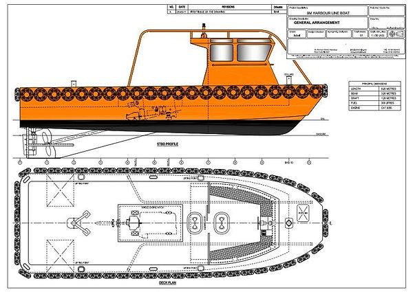 GA harbour boat