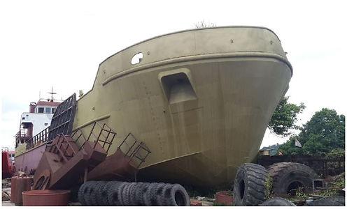 Oil barge