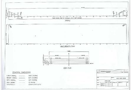 Lines plan
