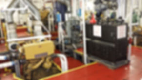 Starboard main engine-sewage p