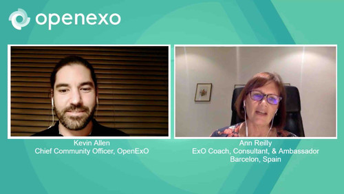 Ann Reilly about running ExO Sprints during Covid-19 lockdown