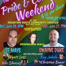 Sat, June 26 - 8:00pm - Pride and Comedy