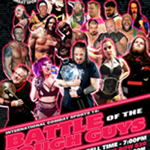 Wed, Apr 21, 7pm - Battle of the Tough Guys - ICS Wrestling - Ringside Seat