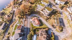 Immobilienfotografie, Drohne