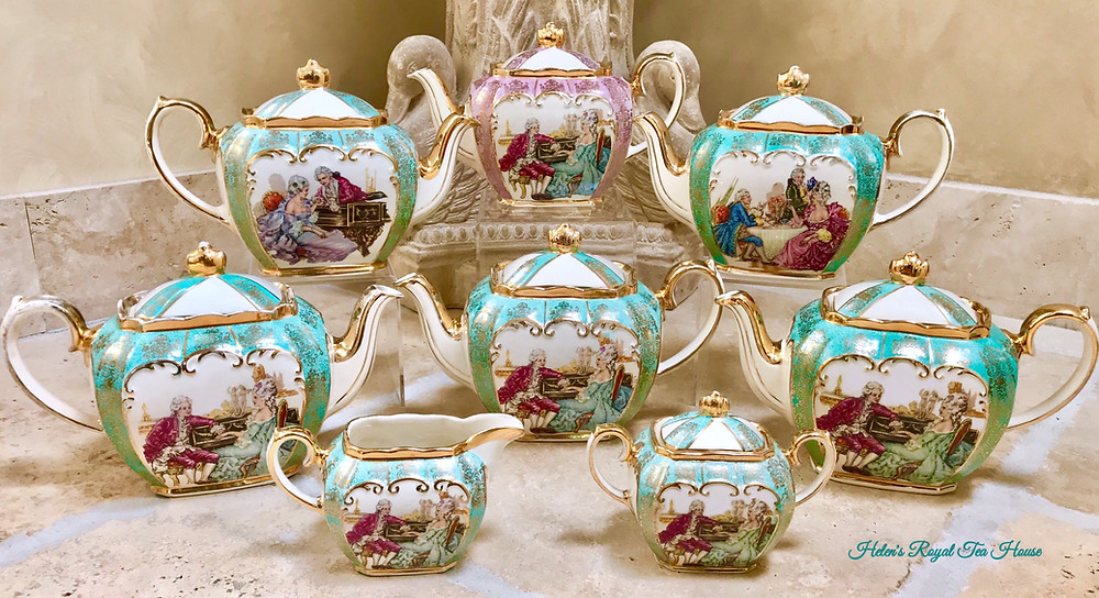 Sadler Teapots, Courting Couples