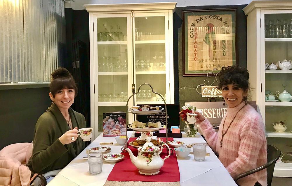 Afternoon Tea at The Savannah Coffee Roasters