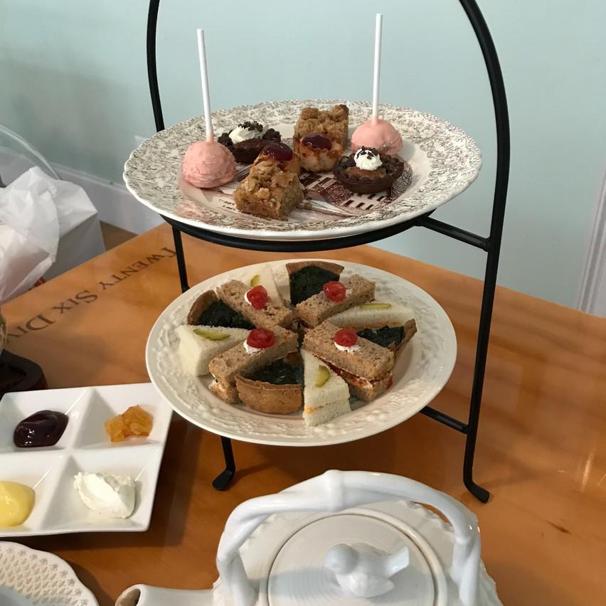Afternoon Tea at Twenty Six Divine