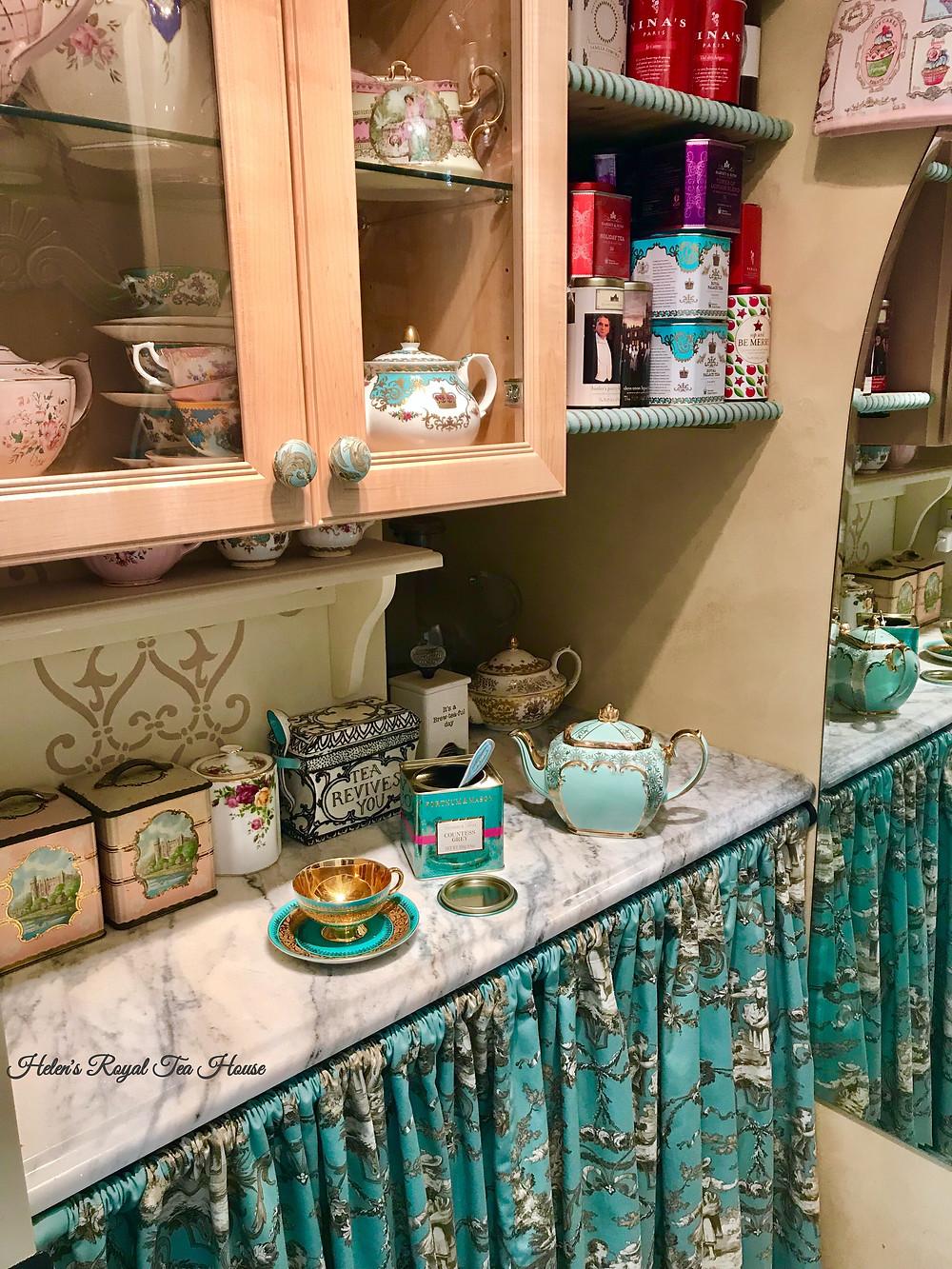 Tea butler pantry