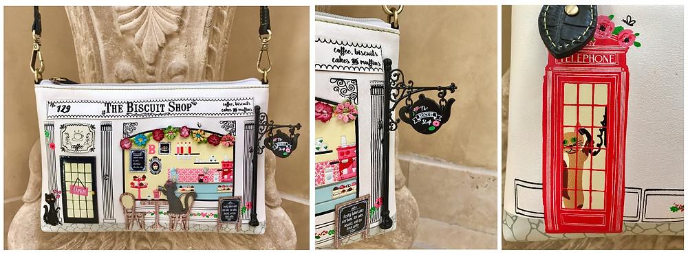 Vendula London Biscuit Shop purse
