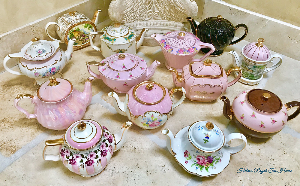 Sadler Teapot styles and patterns