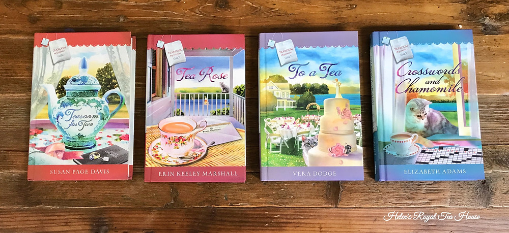 Tearoom Mysteries books by Guideposts