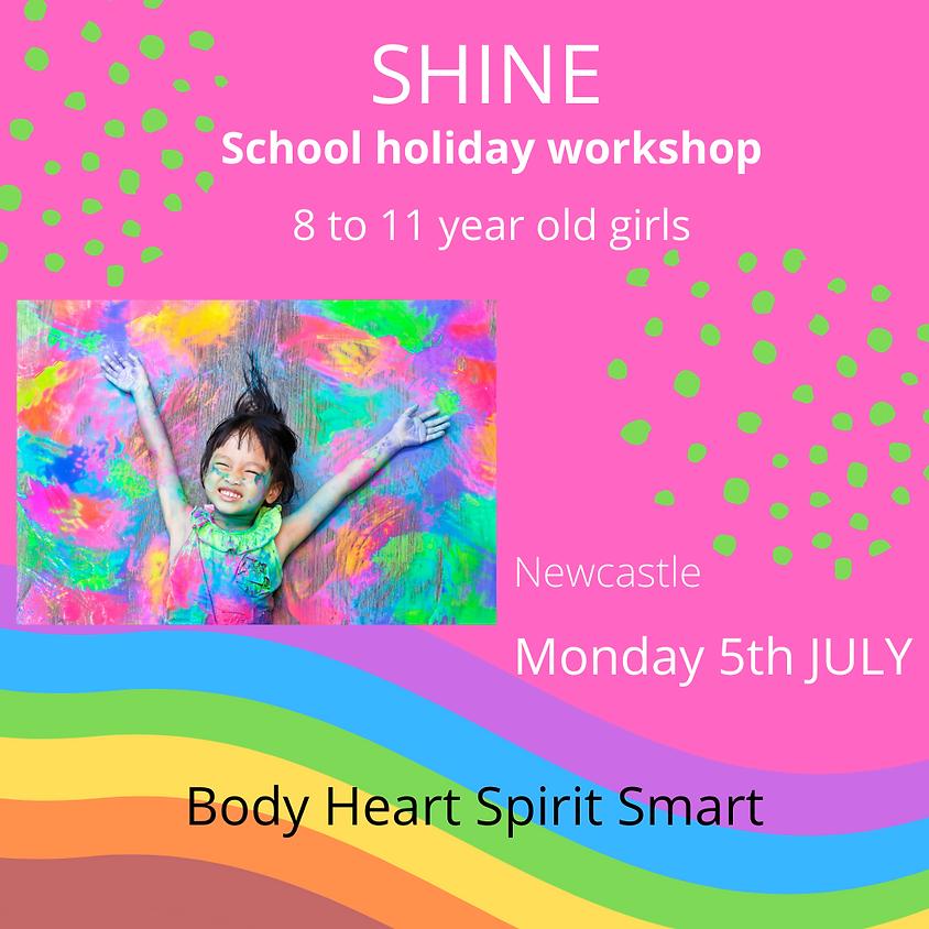 SHINE school holiday workshop $95
