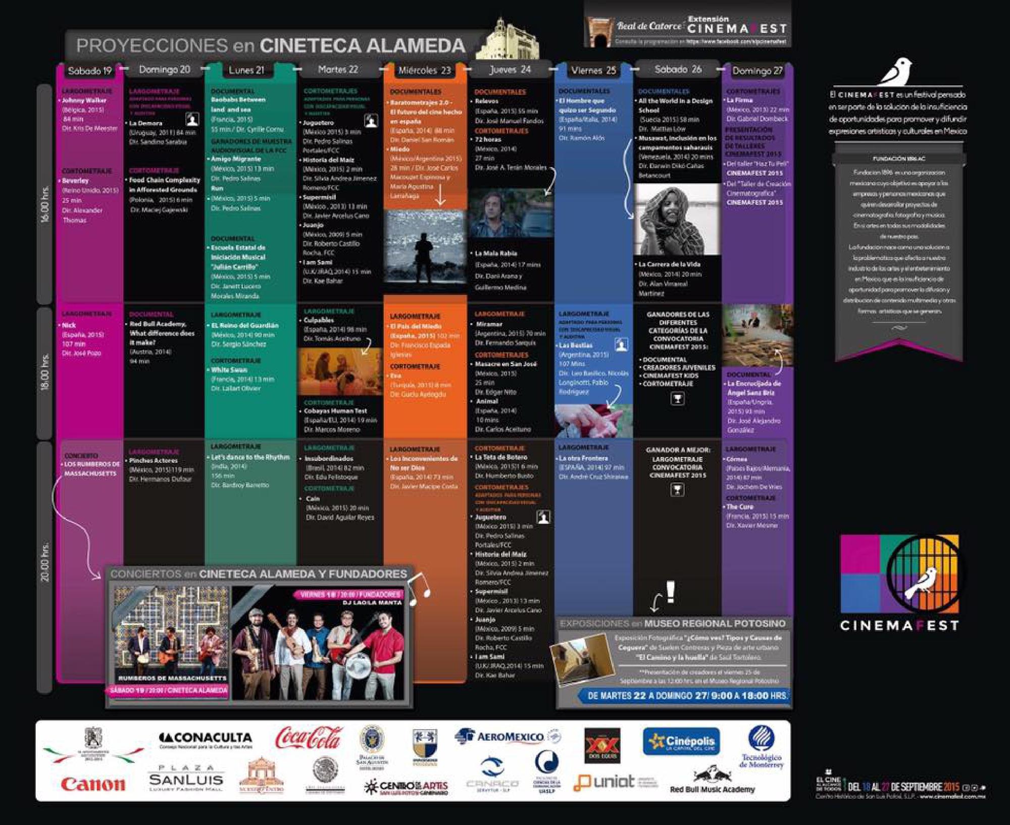 CinemaFest en México 2015