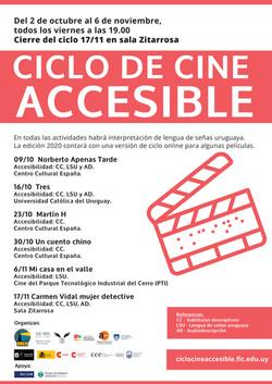 Ciclo de Cine Accesible en Uruguay 2020.
