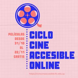 Ciclo de Cine Accesible Online en 2020