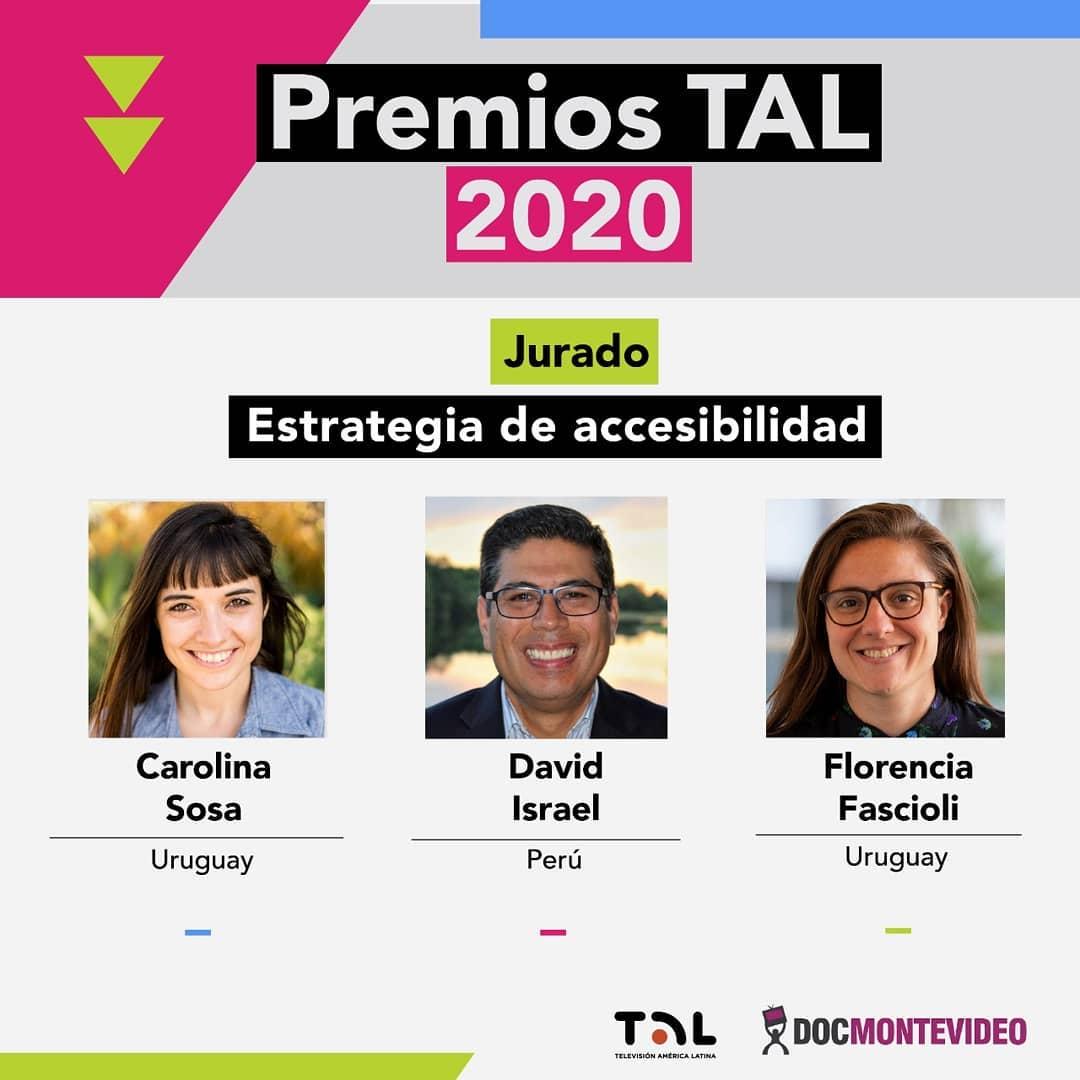 Premios TAL 2020: Jurado de Categoría Estrategia de Accesibilidad