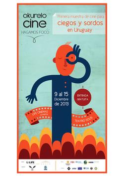 Okurelo Cine en Uruguay 2013