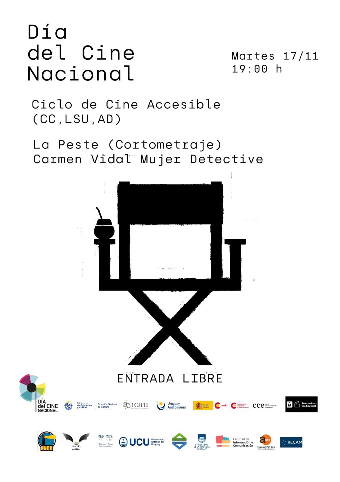 Día del Cine Nacional en Uruguay 2020