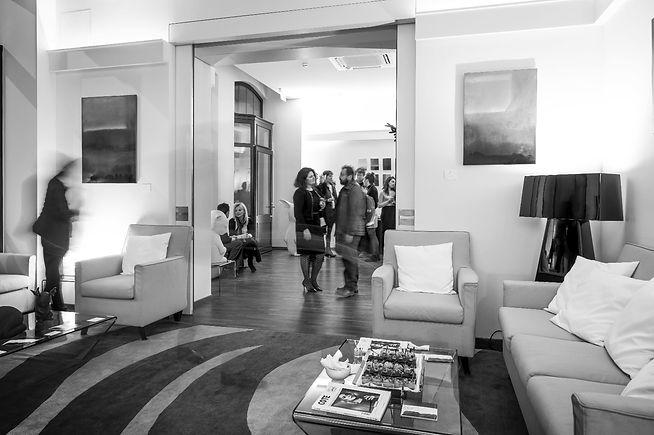 Vernissage Galerie FIRST - exposition décembre 2017