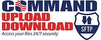Command Upload Download logo