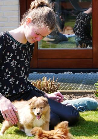 Bente en Caithlynn
