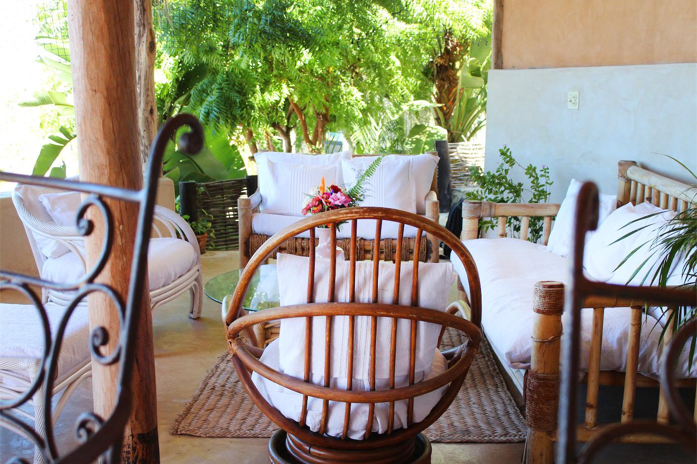 Villas La Mar Todos Santos Lounge