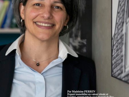 """MADELEINE PERRIN- EOFIMMO EST """"L'OEIL DES EXPERTS"""" CETTE SEMAINE DANS LES ANNONCES LANDAISES"""