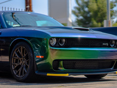 Wrapped Dodge HellCat