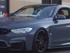 Wrapped BMW M4