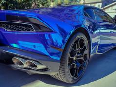 Wrapped Lamborghini