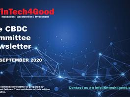 The CBDC Committee Newsletter-September 28TH, 2020