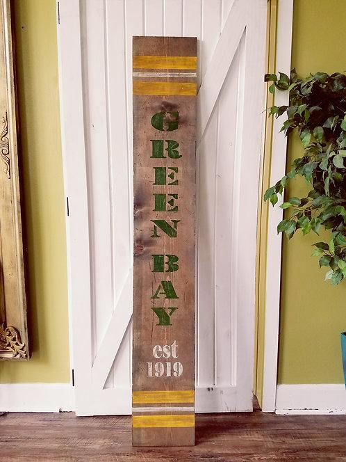 Green Bay Football Sign