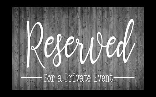Bar Rental Deposit