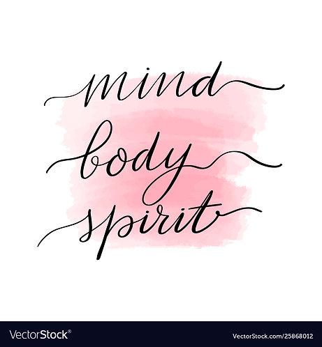 Mind Body Spirit Wellness Workshop 10/10