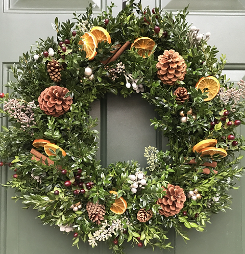 December 5th Holiday Wreath workshop