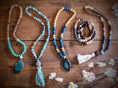 Hand-Painted Necklace Workshop--Reservation