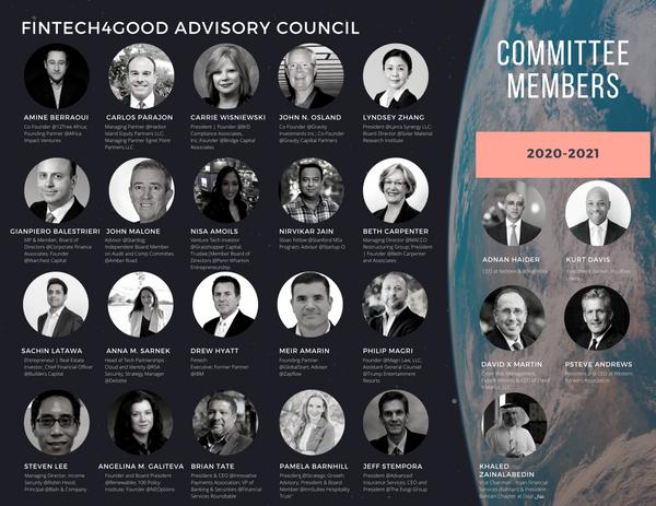 FinTech4Good Advisory Council