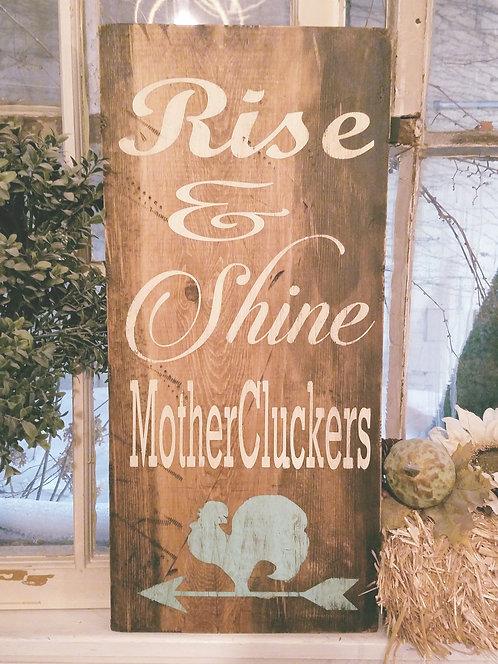 """Rise n' Shine ( 12"""" x 24"""")"""