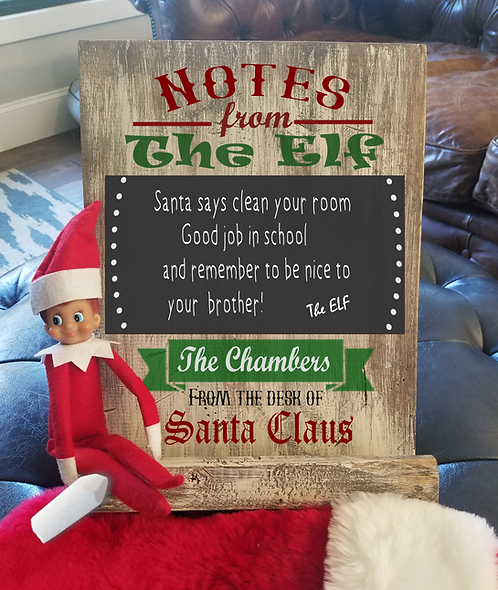 Notes from the Elf