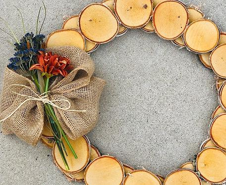 Birch Wreath Workshop 10/17